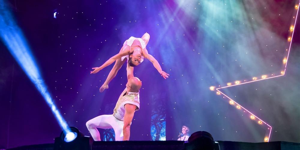A Magical Cirque Christmas.A Magical Cirque Christmas Bridge View Center Ottumwa Iowa